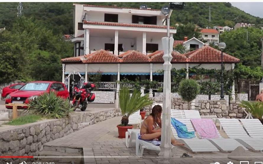 Kuća Miloša Bojanića na moru