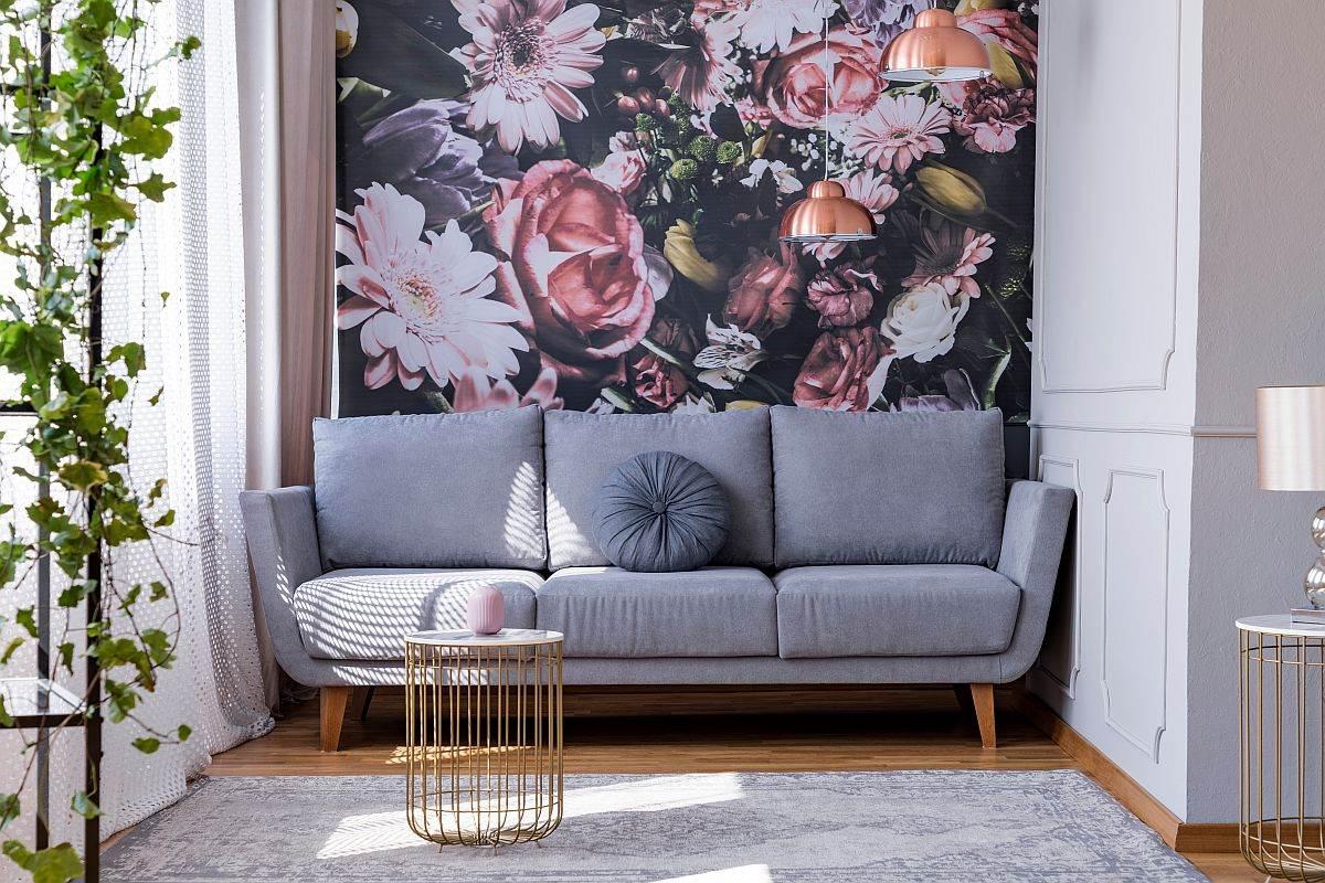 Foto-tapet sofa soba