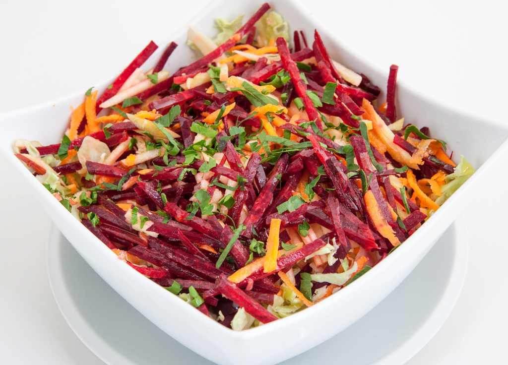 Salata od cvekle i šargarepe