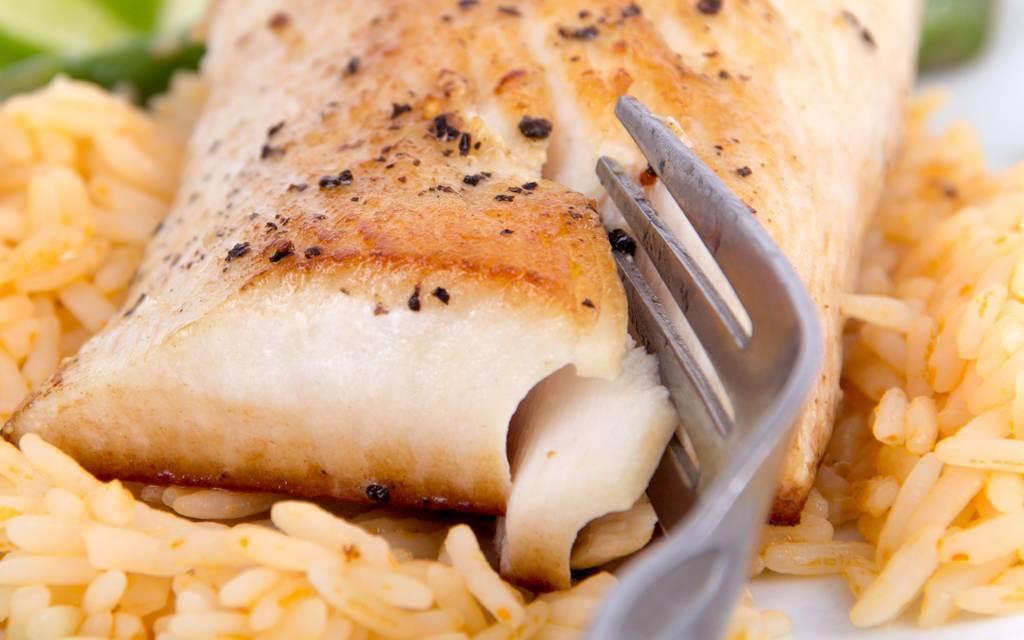 Riba na pirinču