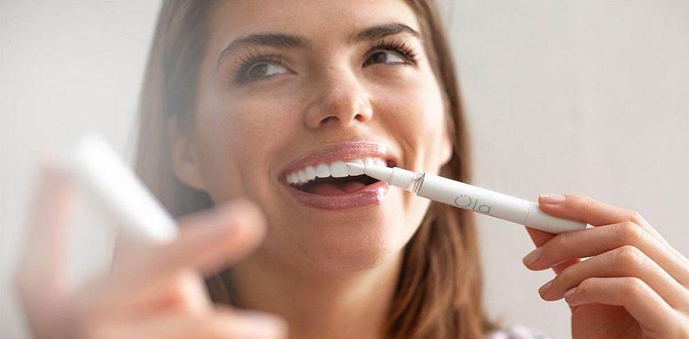 ola olovka izbeljivanje zuba