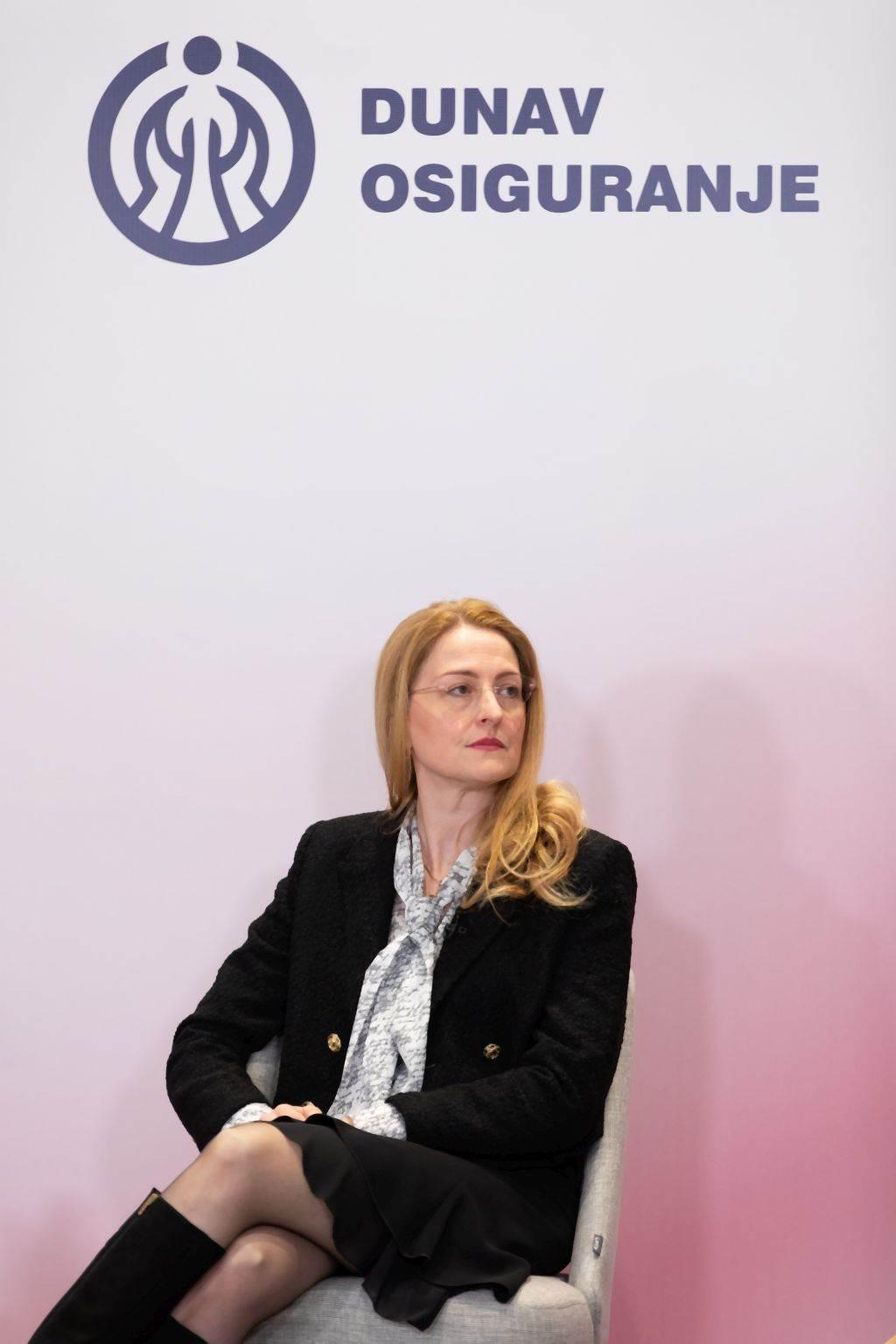 Nataša Bašić, direktorka Direkcije za osiguranje, Dunav Osiguranje