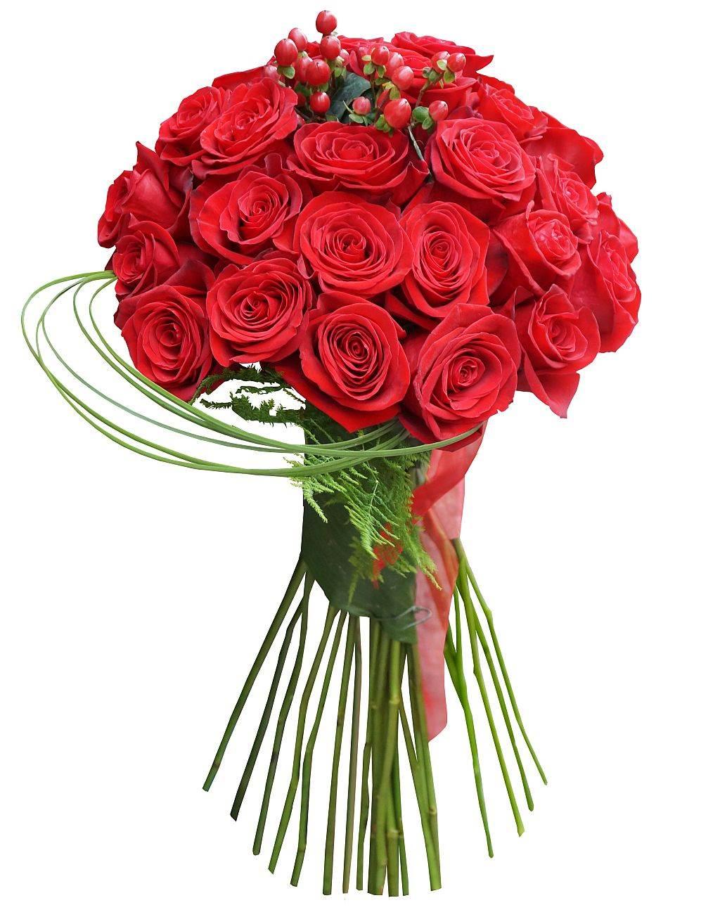 Buket crvenih ruža, Teleflora