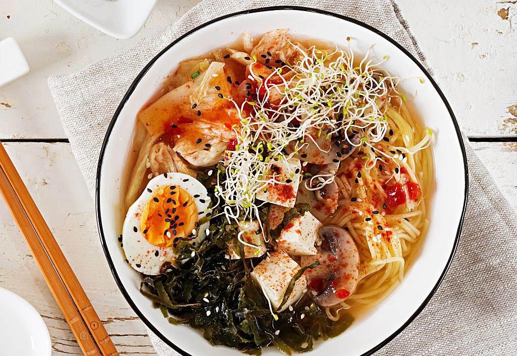 Supa sa morskim travama i kuvanim jajima