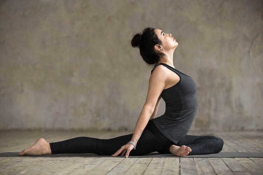 Poza golub - joga