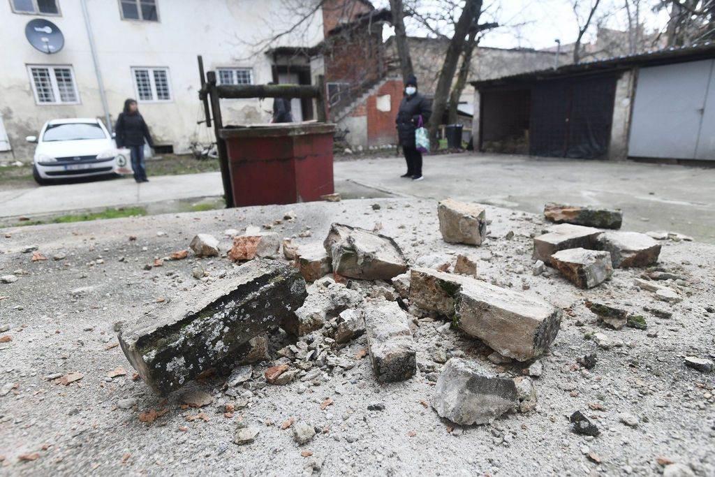 Zemljotres u Sisku, 28. decembar 2020.
