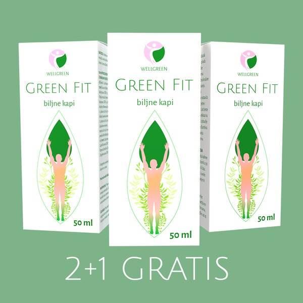green fit biljne kapi