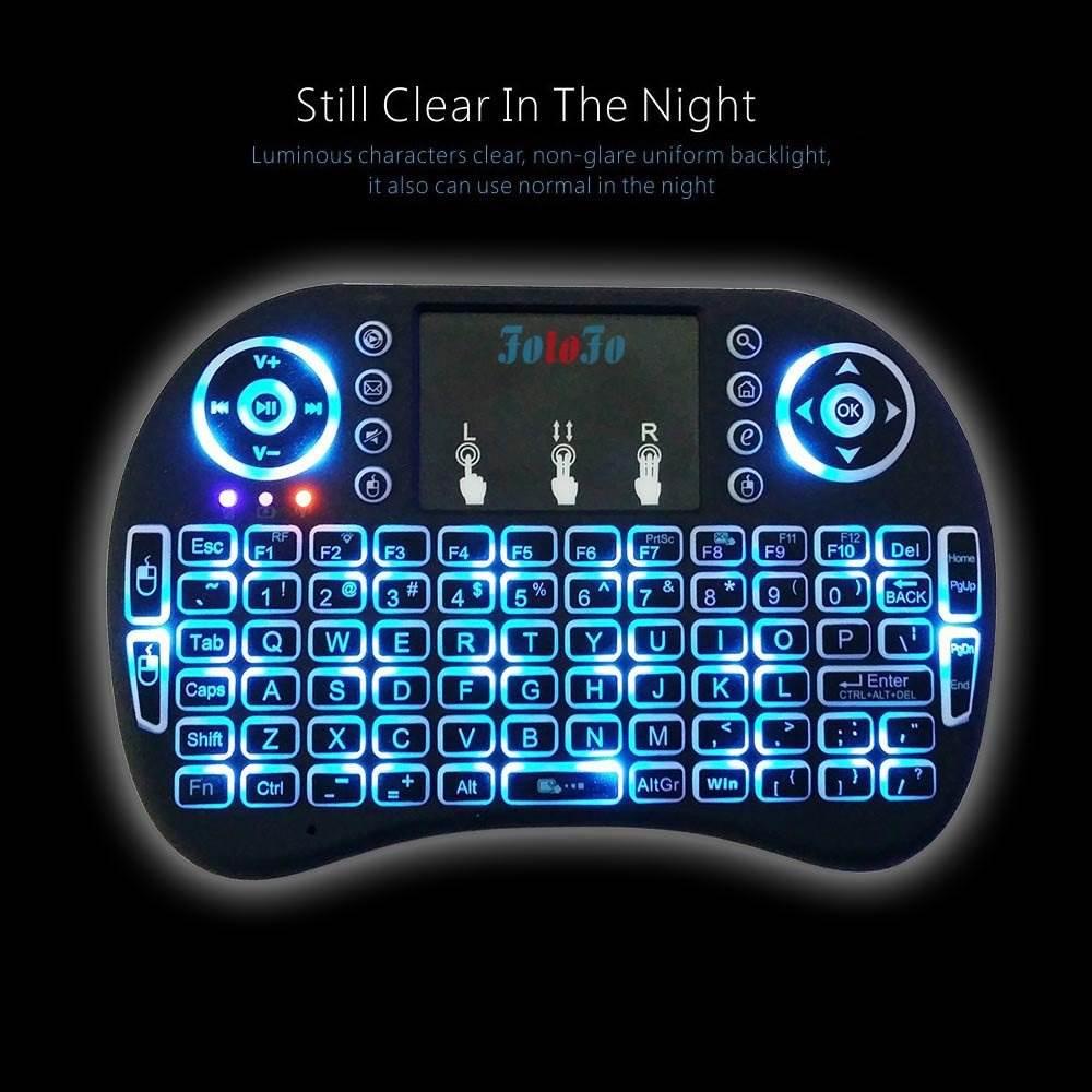 mini tastatura sa svetlom