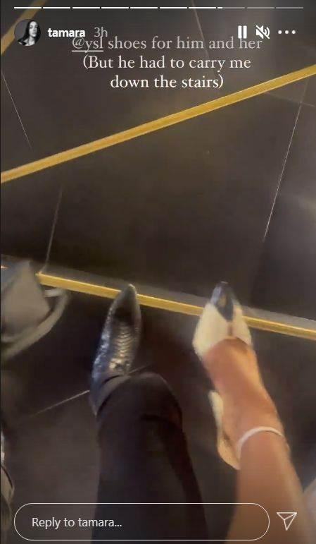 tamara kalinic noge