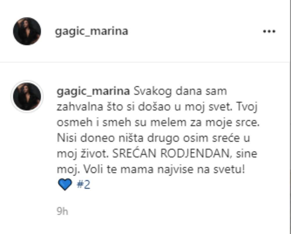 marina gagić instagram