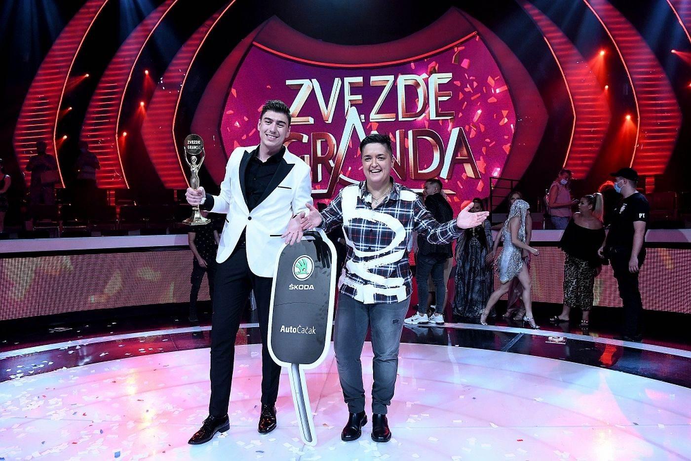 Mahir Mulalić i Marija Šerifović Zvezde Granda