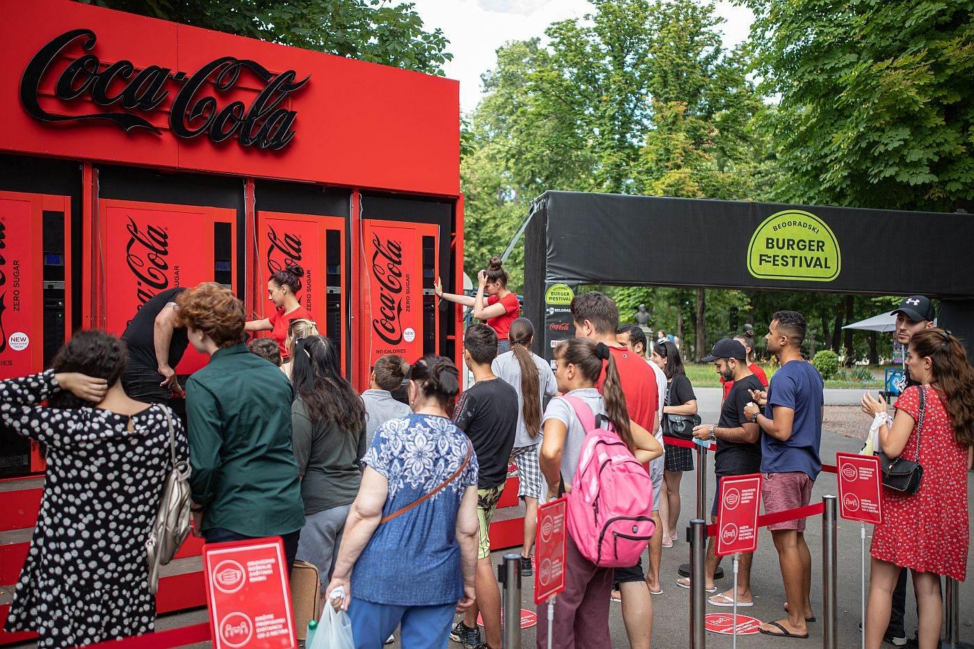 Burger Fest Coca-cola