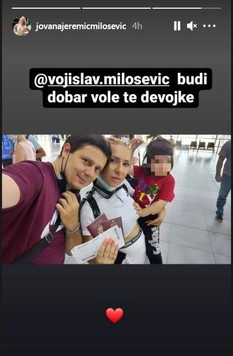 Jovana Jeremić muž Vojislav ćerka Lea
