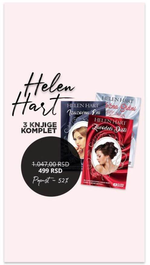 Helen Hart komplet knjiga