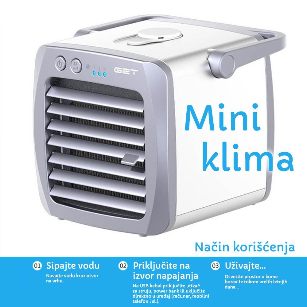 prenosna mini klima
