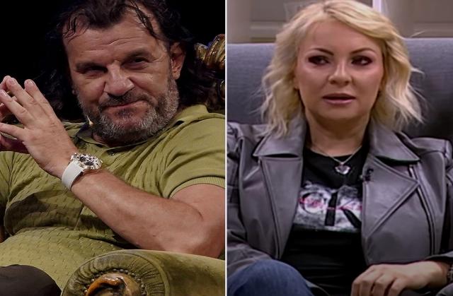 Ivana Selakov i Aca Lukas svadja
